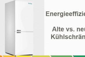Energieeffizienz? Alte Vs. Neue Kühlschränke.