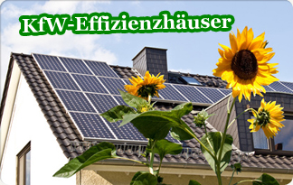 Foto: Haus, KfW-Effizienzhaus mit pv-anlage