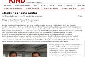 Interview Stadtkind