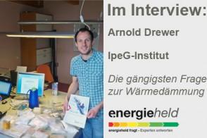 Energieheld Interview Arnold Drewer Gaengigste Fragen