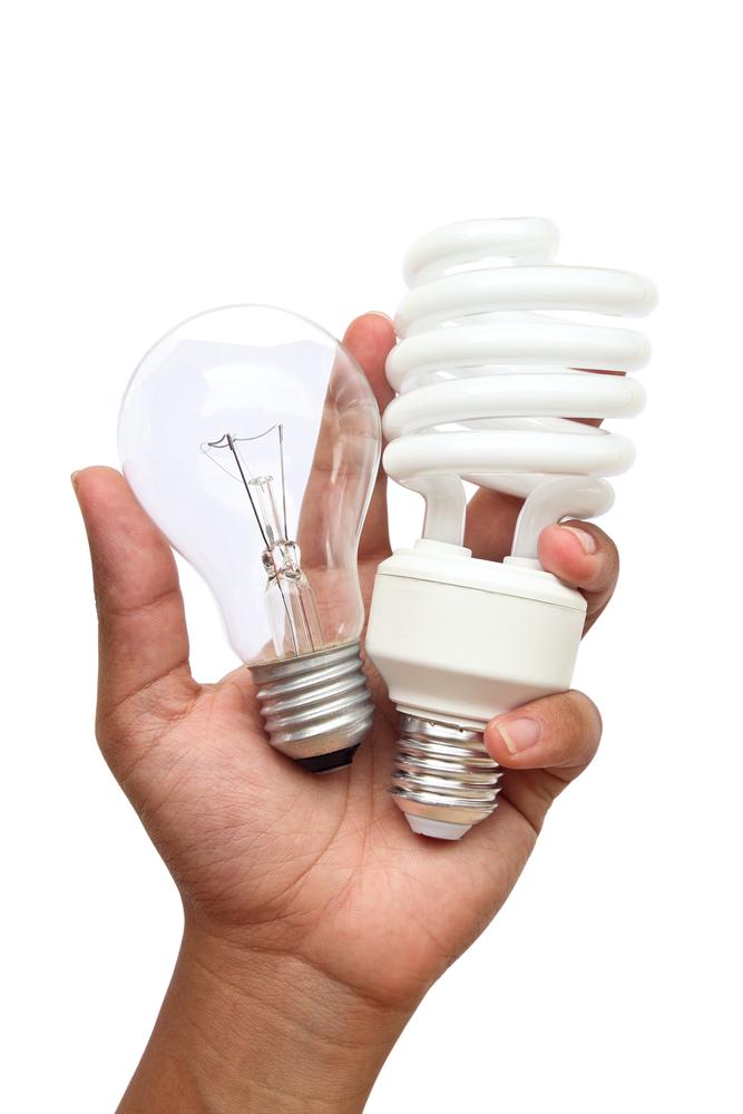 Glühbirne vs energiesparende Lampen