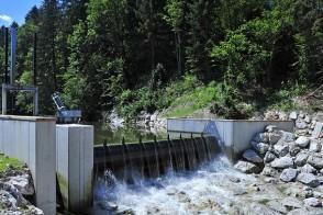 Wasserkraftwerk Energieheld Bei Polarstern