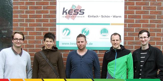 Das Energieheld Team Mit Isolierklinker Kess.