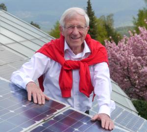 Foto: Photovoltaik Experte Franz Alt