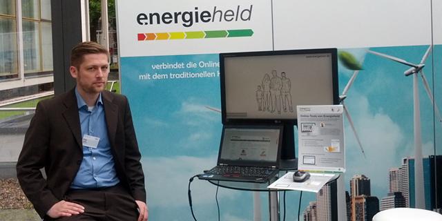 Geschäftsführer Philipp Lyding Beim BDEW-Kongress.