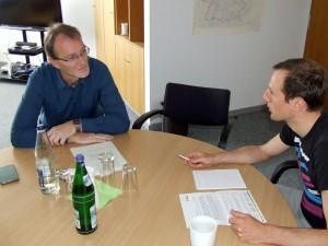 Thomas Schremmer im Gespräch mit energieheld Gründer Michael Kessler