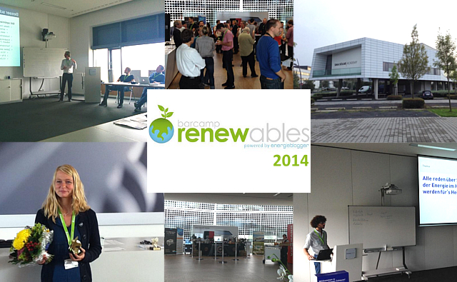 Collage Barcamp Renewables 2014