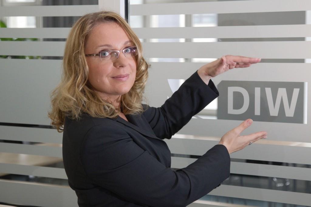 Prof. Claudia Kemfert im DIW
