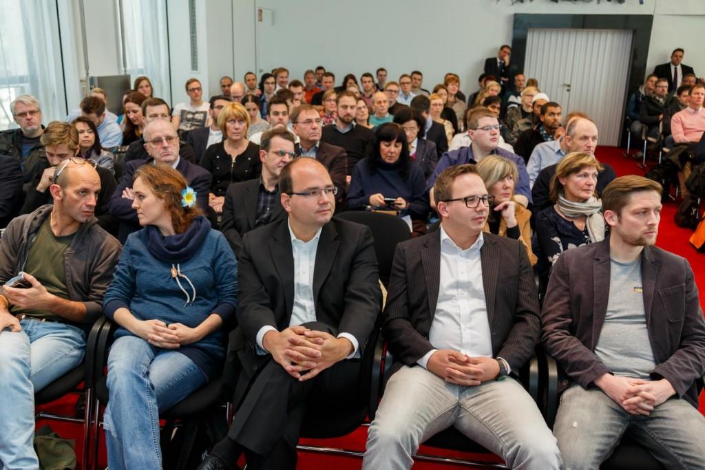 Zuschauer IHK Gründertag