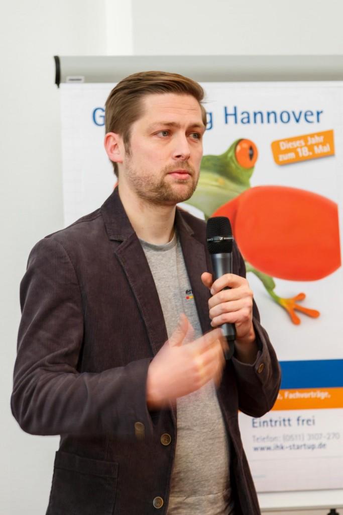 Philipp Auf Dem IHK Gründertag Hannover