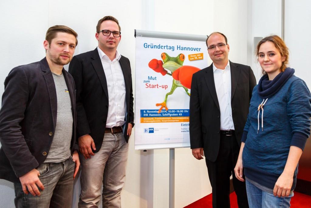 IHK Gründungstag Hannover, Die Gründer