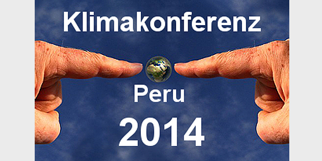 2014: UN-Klimakonferenz In Lima (Peru).