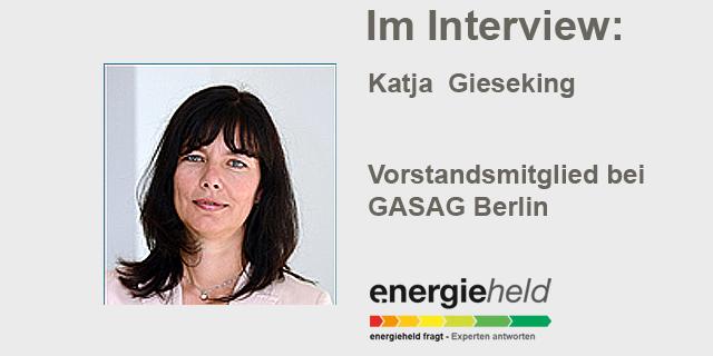 Katja Gieseking: Vorstandsmitglied Der GASAG Berlin