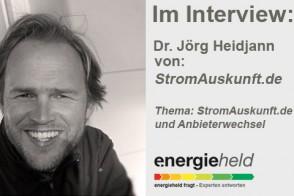 Im Interview: Dr. Jörg Heidjann (StromAuskunft.de)