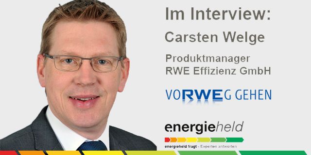 Interview Rwe Effizienz Carsten Welge Batteriespeicher Photovoltaik