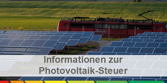 Photovoltaik-Steuer