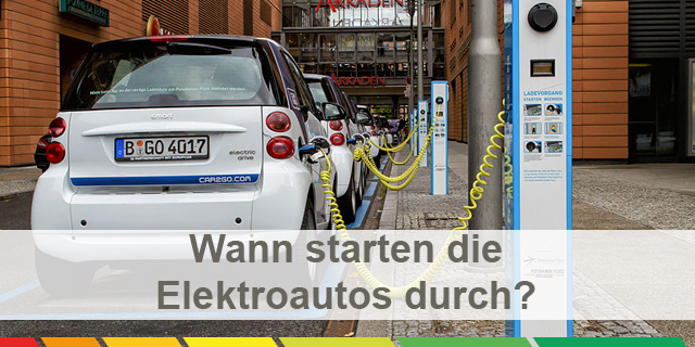 Wann Starten Die Elktroautos Durch – CC – Attribution Share Alike