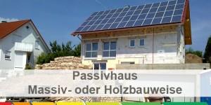 Passivhaus wandaufbau massiv  Passivhaus: Massivbauweise oder Holzbauweise? - energieheld Blog