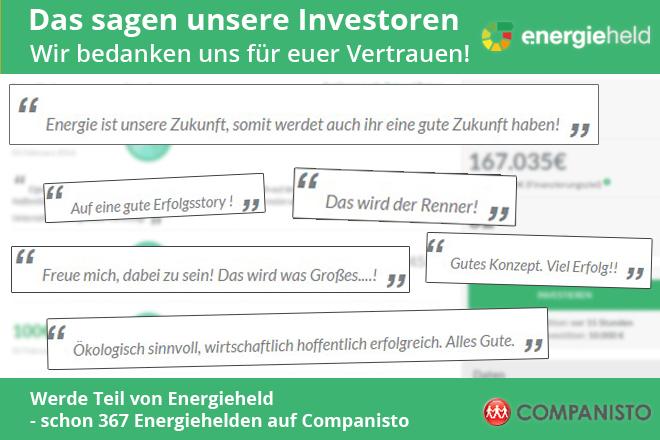 Das sagen unsere Investoren - final