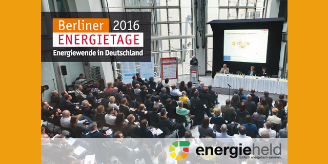 Innovation, Energieeffizienz Und Das Digitale Handwerk Finden Zusammen – Auf Den Energietagen 2016 In Berlin