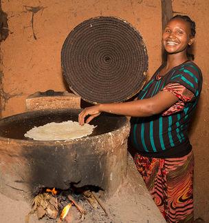 Fairtrade in Afrik und der energieeffiziente Ofen