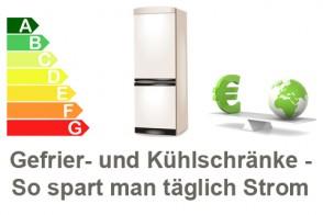 Kühl- Und Tiefkühlschrank: So Spart Man Täglich Energie