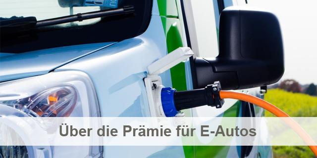 Beitragsbild Prämie E Autos