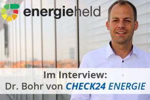 Interview: Dr. Oliver Bohr, Geschäftsführer Des Bereichs ENERGIE Beim Vergleichsportal CHECK24