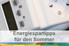 Bild: Energiesparttipps Für Den Sommer
