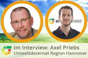 Interview- Axel Priebs, Umweltdezernent Der Region Hannover