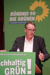 Stefan Wenzel auf dem Grünen Parteitag 2015