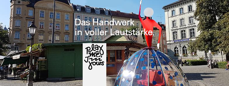Das Handwerk in voller Lautstärke - Eine Veranstaltung der HWK München zum Tag des Handwerks 2016
