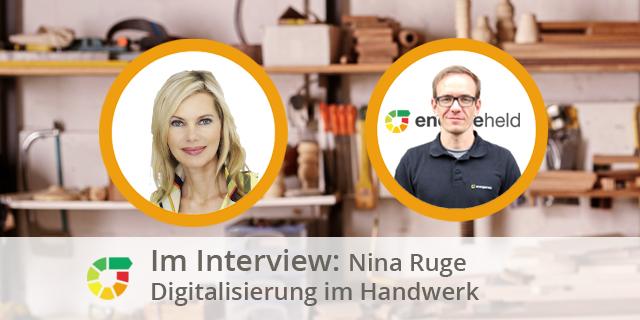 Experteninterview Mit Nina Ruge: Digitalisierung Im Handwerk