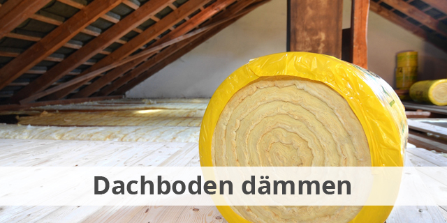 Dachboden Dämmen Oberste Geschossdecke Blog Beitragsbild