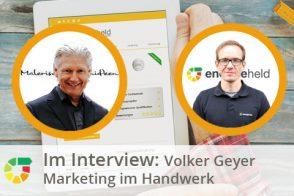 Volker Geyer Im Interview - Marketing Im Handwerk