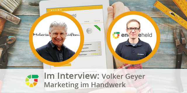 Volker Geyer Im Interview - Marketing Im Handwerk