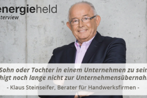 Blog Beitragsbild Steinseifer Interview Beratung Für Handwerk Energieheld
