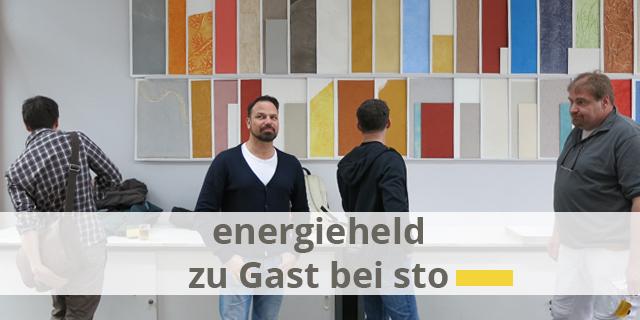 Energieheld Zu Gast Bei Sto – Ein Blick Hinter Die Kulissen