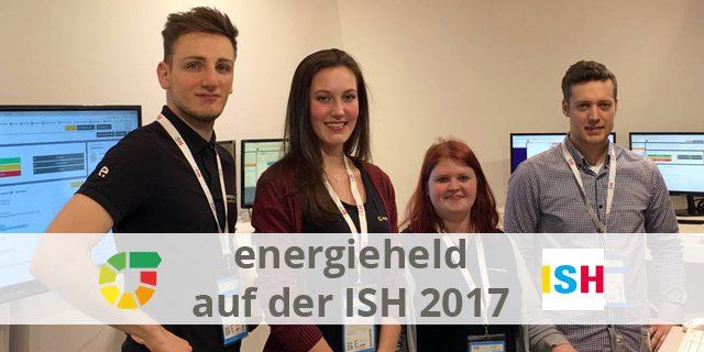 Energieheld Auf Der ISH 2017