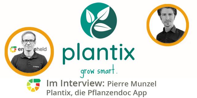 Experteninterview Mit Pierre Munzel Von PEAT über Die Pflanzendoc App Plantix
