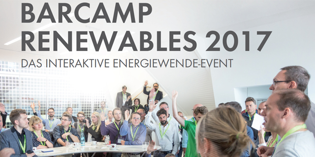 Barcamp Renewables 2017