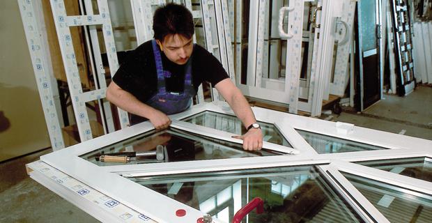 Fensterhandwerk - Endmontage Fenster