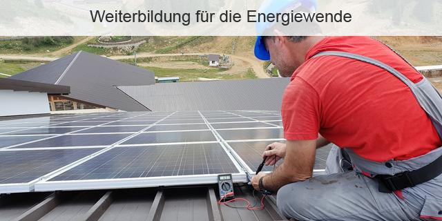 Blog Beitragsbild Weiterbildung Arbeitsmark Energiewende