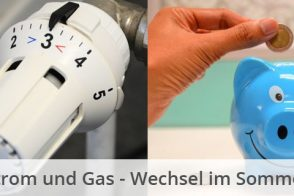 Blog Beitragsbild Strom Gas Wechsel Sommer