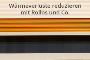 Blog Beitragsbild Wärmeverluste Rollos Und Co