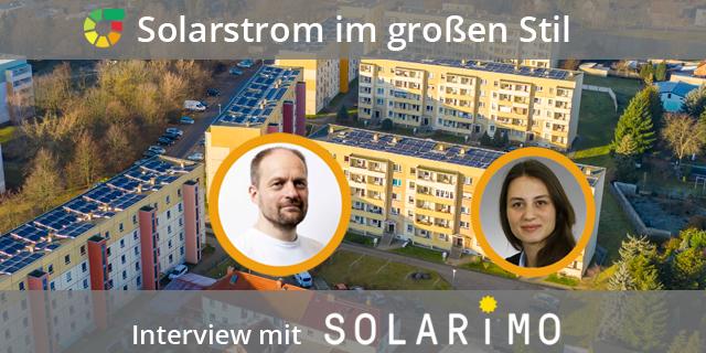 Solarstrom Für Ein Ganzes Mehrfamilienhaus – Interview Mit SOLARIMO