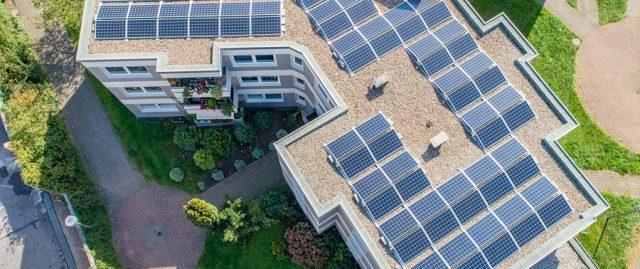 Bild: Solaranlage auf Dach