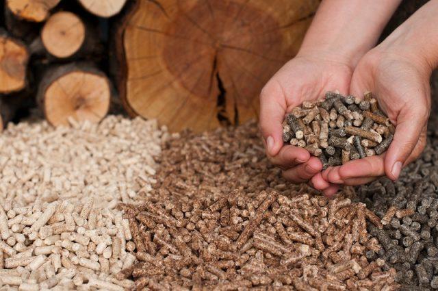 Holzpellets - Förderung einer Heizung